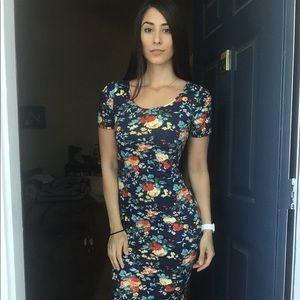 Tom's Ware Midi Floral Dress